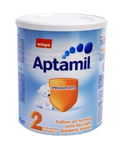 APTAMIL Бебешко адаптирано мляко 2  400гр.